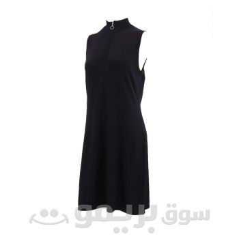 Black Dress Without Sleeves For Women From OVS